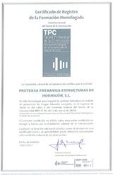 Certificats de formation accrédités